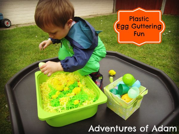 Adventures of Adam Plastic egg guttering fun