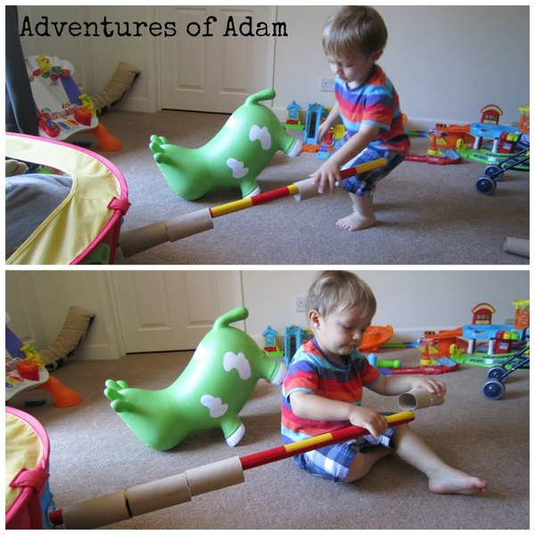 Adventures of Adam independent toddler play