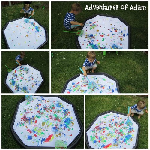 Adventures of Adam toddler tuff spot fun