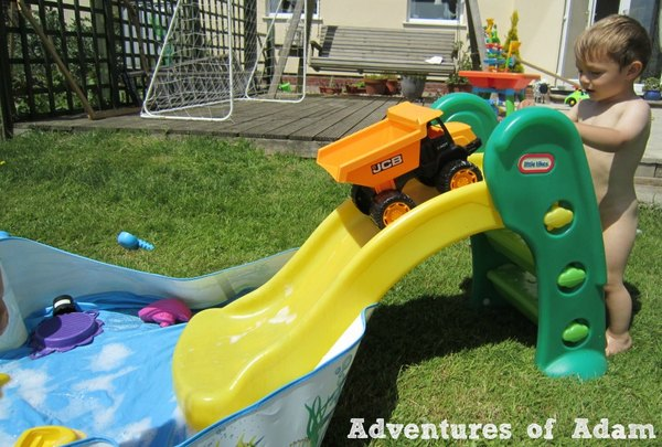 Adventures of Adam toddler ramp slide