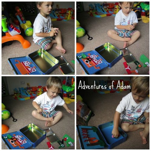 Adventures of Adam aliens love underpants toddler play