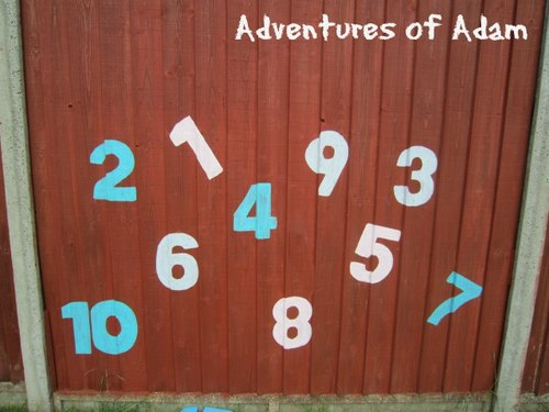 Adventures of Adam toddler number recognition