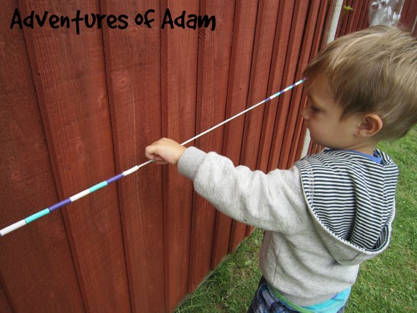 Adventures of Adam mathematical skills outside