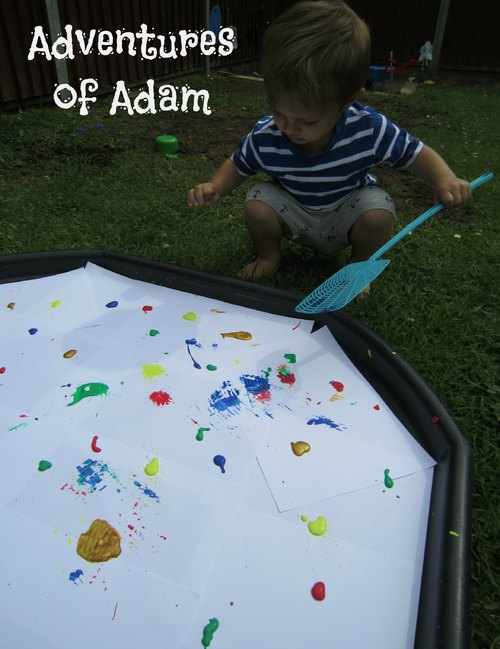 Adventures of Adam paint splat