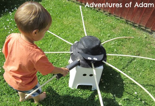 Adventures of Adam fine motor skills spider