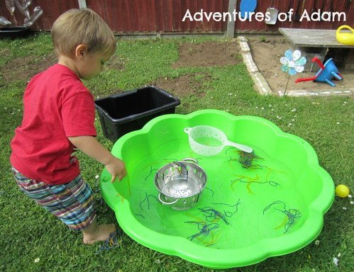 Adventures of Adam string water play