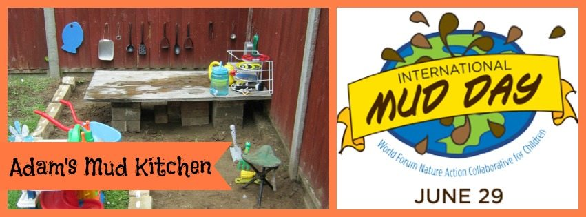 Adventures of Adam toddler Mud Kitchen