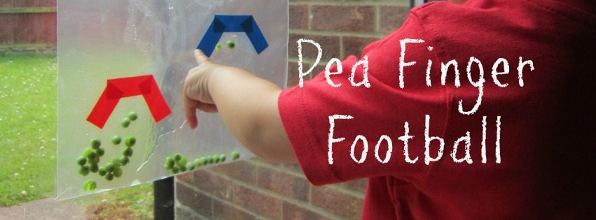 Pea finger football