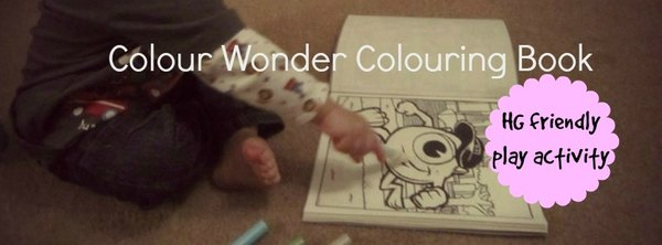 Adventures of Adam colour wonder colouring book