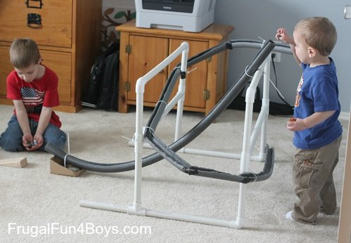 Adventures of Adam Frugal Fun 4 Boys marble run