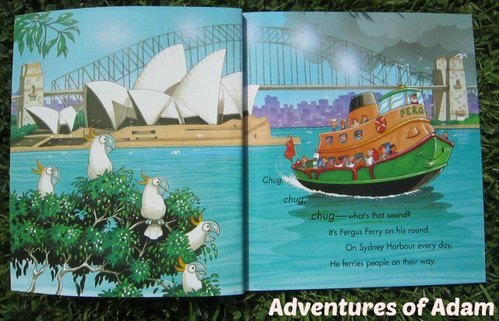 Adventures of Adam Sydney Harbour