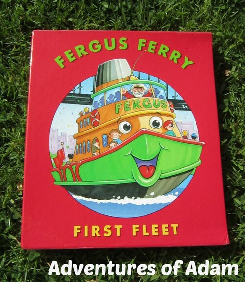Adventures of Adam Fergus Ferry First Fleet