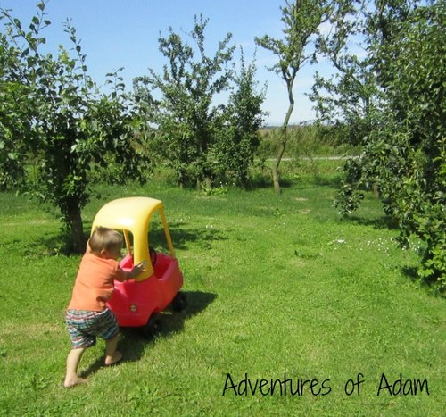 Adventures of Adam little tikes car