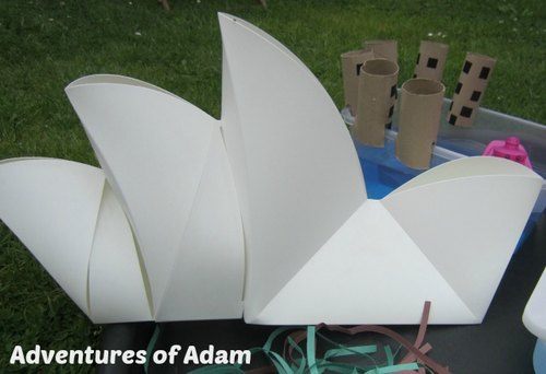 Adventures of Adam Sydney Opera House small world