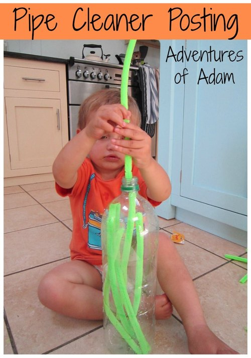 Adventures of Adam ways to play with pipe cleaners