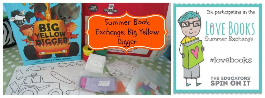 Adventures of Adam Summer Book Exchange Big Yellow Digger