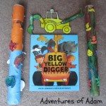 Adventures of Adam Big Yellow Digger play activities