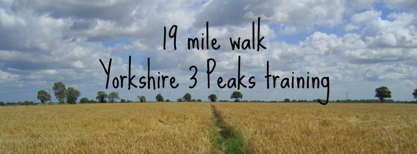 Adventures of Adam 19 mile walk Yorkshire 3 peaks training