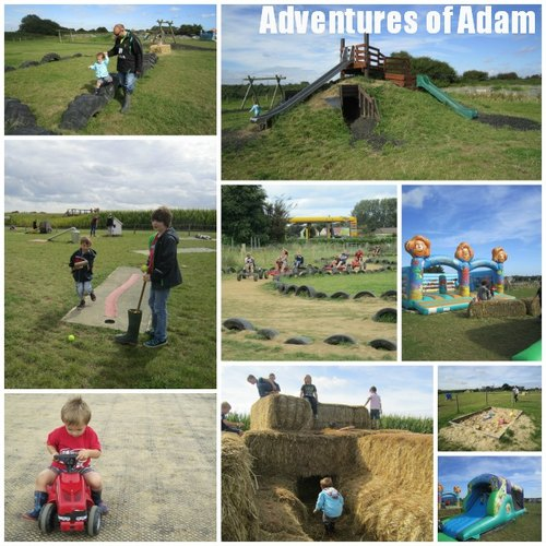 Adventures of Adam Hemsby MegaMaze toddler days out