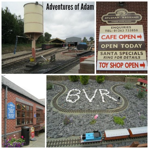 Adventures of Adam Aylsham train station
