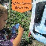 Adventures of Adam water spray bottle art