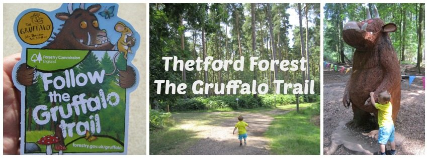 Adventures of Adam Thetford Forest The Gruffalo Trail