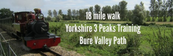 18 Mile Walk – Yorkshire 3 Peaks Training