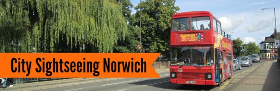 City Sightseeing Bus Norwich