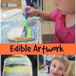 Adventures of Adam edible artwork