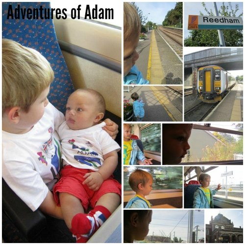 Adventures of Adam toddler train ride