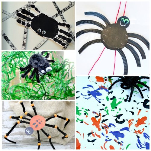 Adventures of Adam toddler friendly spider arts and crafts