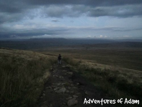 Adventures of Adam climbing down Ingleborough in the dark