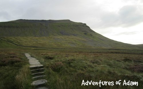 Adventures of Adam view of Ingleborough
