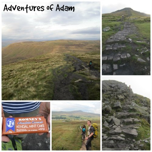 Adventures of Adam to the summit of Ingleborough