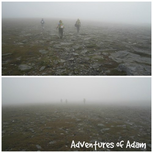 Adventures of Adam top of Ingleborough