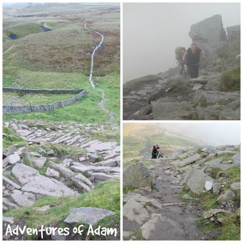 Adventures of Adam climbing Yorkshire 3 Peaks