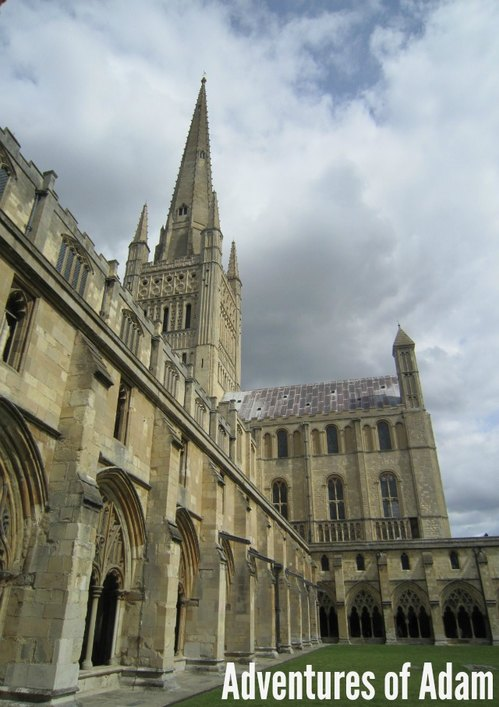 Adventures of Adam Norwich Cathedral for toddlers