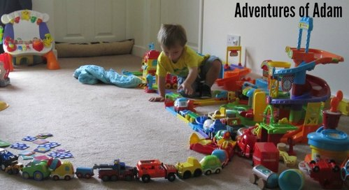 Adventures of Adam Vtec train set