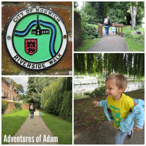 Adventures of Adam Norwich Riverside walk