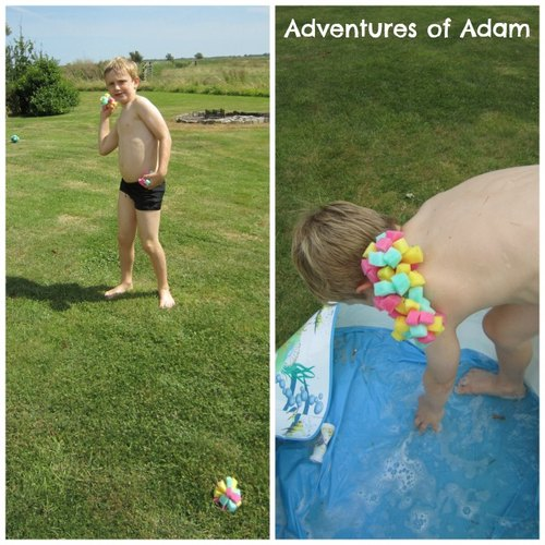 Adventures of Adam water fight