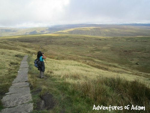Adventures of Adam view from Whernside
