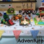 Adventures of Adam farmyard theme party food