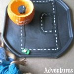 Adventures of Adam DIY pumpkin car tunnel