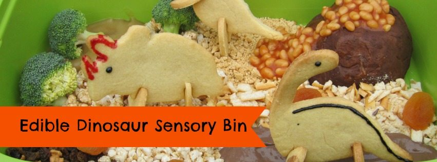 D is for Dinosaur Sensory Bin – 31 Days of ABC