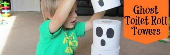 Ghost Toilet Roll Towers