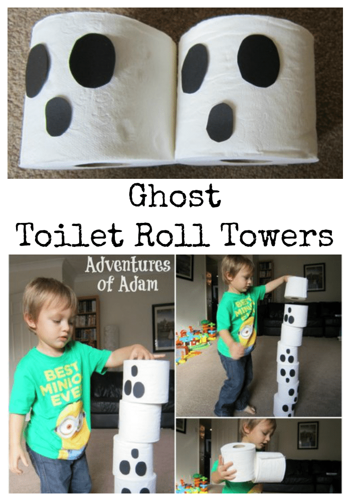 Adventures of Adam Ghost Toilet Roll Towers