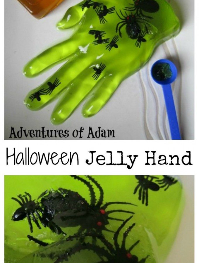 Adventures of Adam Halloween Jelly Hand