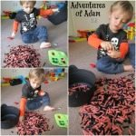 Adventures of Adam fine motor Halloween