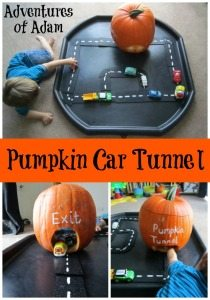 Adventures of Adam Pumpkin Car Tunnel