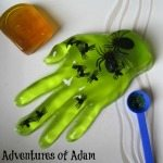 Adventures of Adam toddler friendly halloween activity